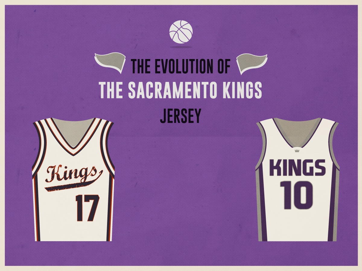 outlet store 77589 abf44 The Evolution of the Sacramento Kings Jersey