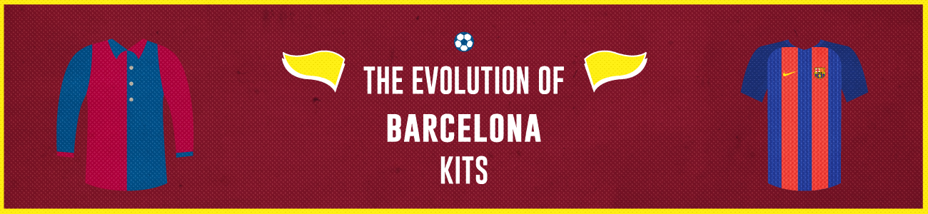 The Evolution Of The Barcelona Jersey