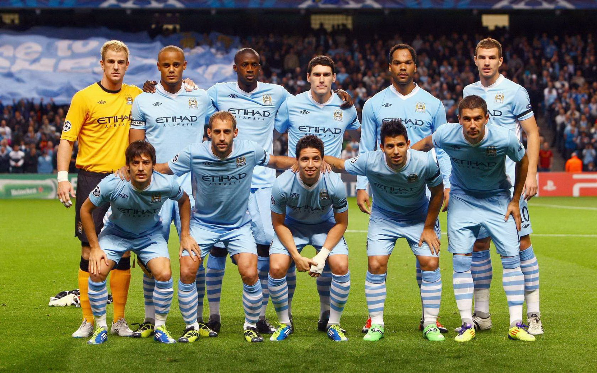 The Evolution of the Manchester City Kits