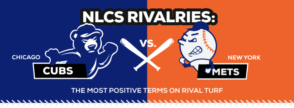 NLCS Rivalries Chicago Cubs vs New York Mets