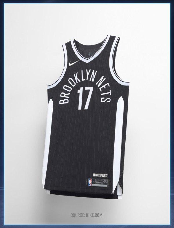 afe3c795226 Although the Brooklyn Nets have been out of the hunt for the past few  seasons, these jerseys are championship caliber. The team kept its classic  black and ...
