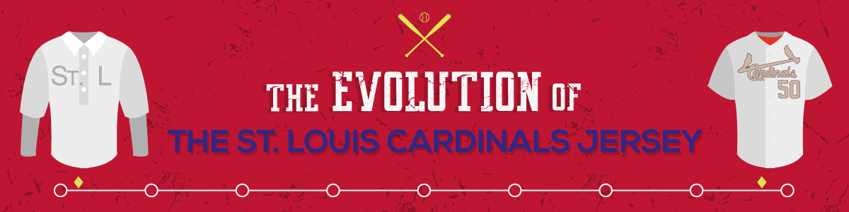 The Evolution Of St Louis Cardinals Jersey