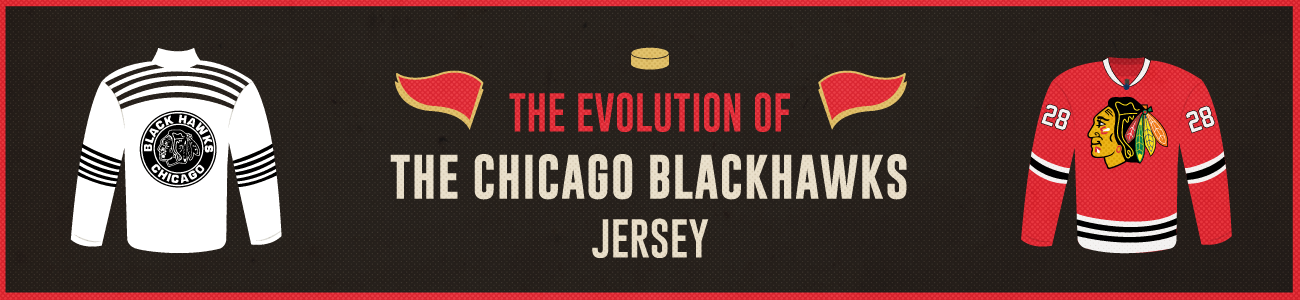 8bb79db5e8d The Evolution of the Chicago Blackhawks Jersey