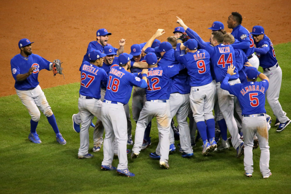 51bed135f76 Cubs Fans Celebrate a Win 108 Years in the Making