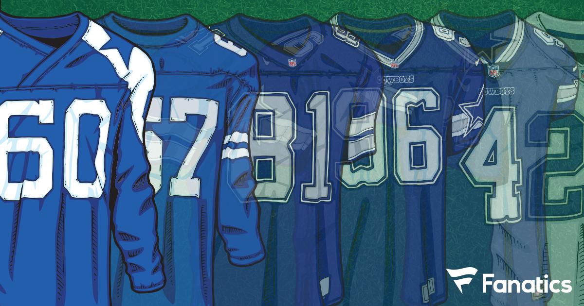 503ece77d The Evolution of the Dallas Cowboys Jersey