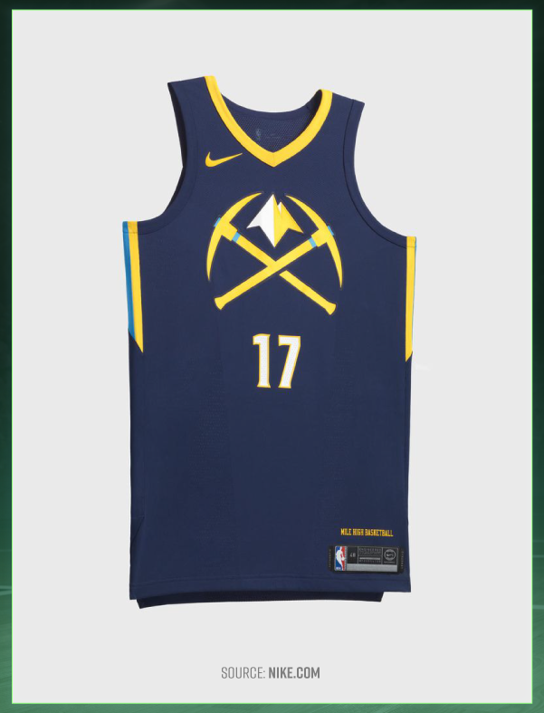 separation shoes 890a3 8a95d NBA City Edition Jerseys: Northwest Division