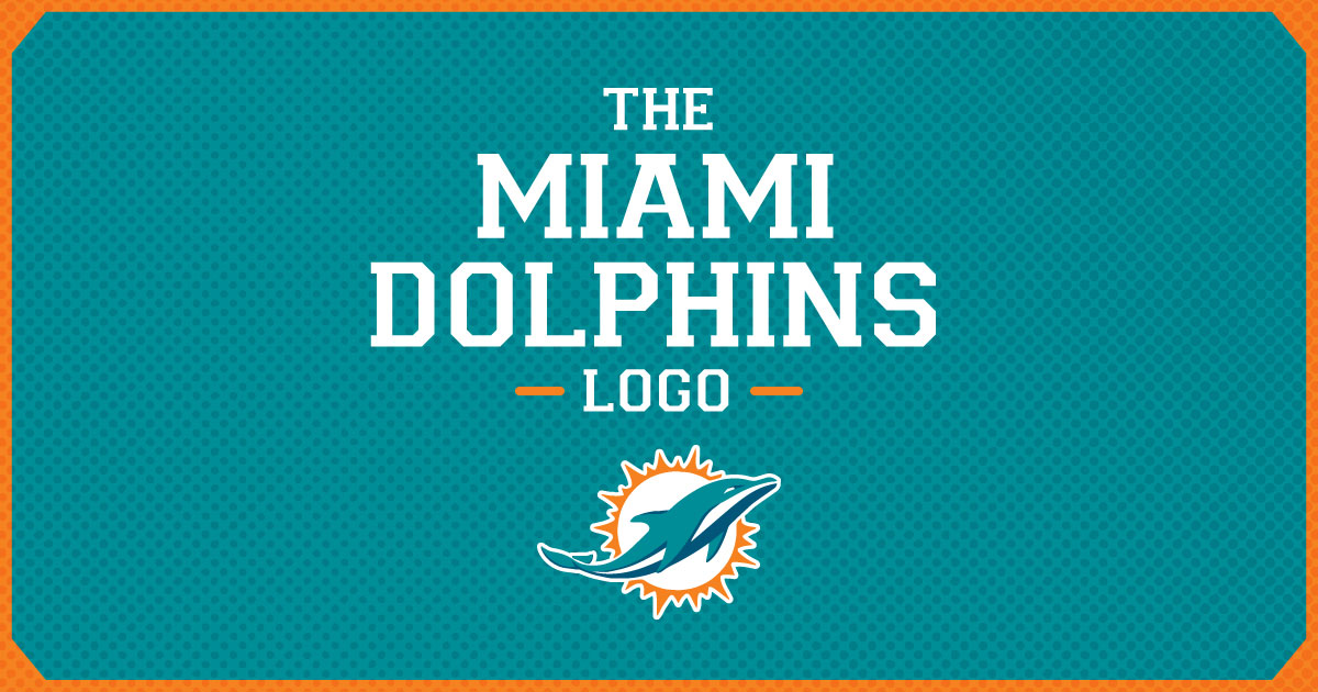 the evolution of the miami dolphins logo