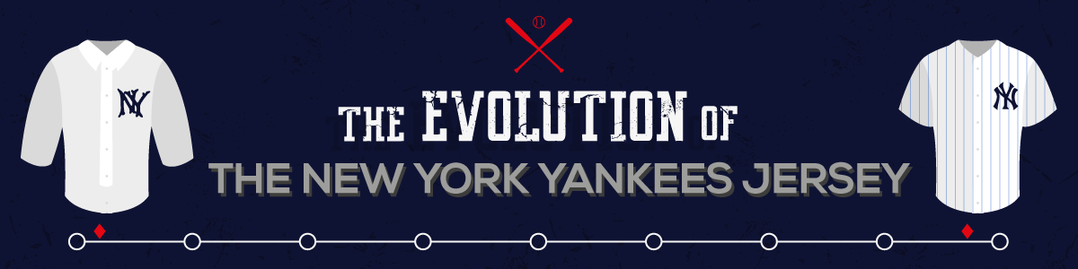 The Evolution of the New York Yankees jersey