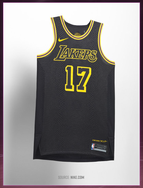 676d6bb776e It might be easy to see the City Edition of the LA Lakers jersey and keep  scrolling