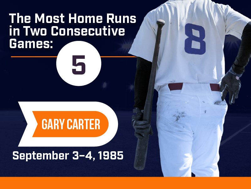 This Day in Sports History: Gary Carter Hits 5 Homeruns in Consecutive Days