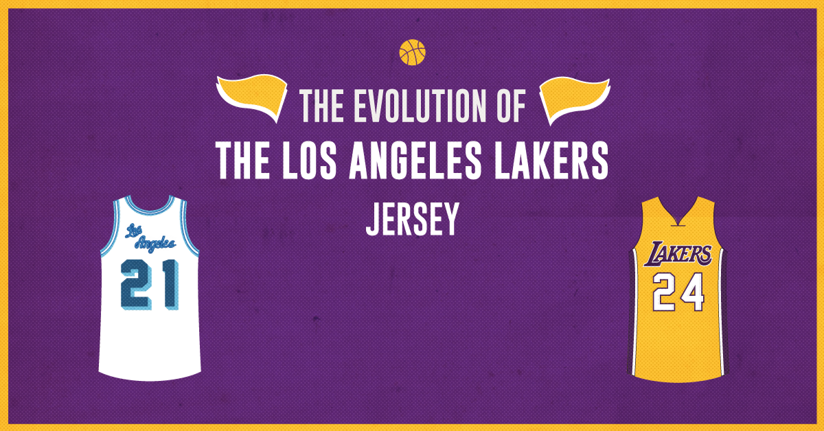 The Evolution of the Los Angeles Lakers Jersey 0f105b9f5
