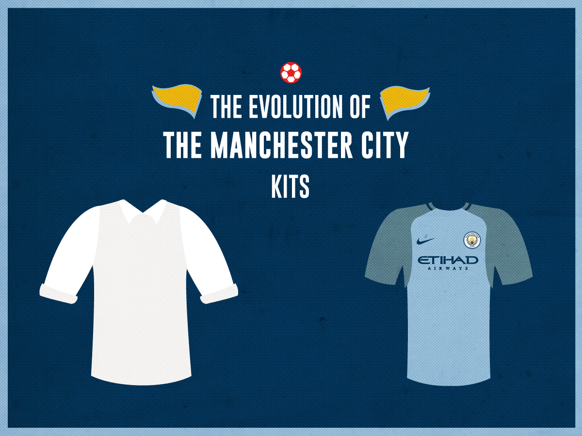 c2783792718 The Evolution of the Manchester City Jersey