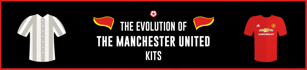 best loved a5ec8 5dc4c The Evolution of the Manchester United Jersey