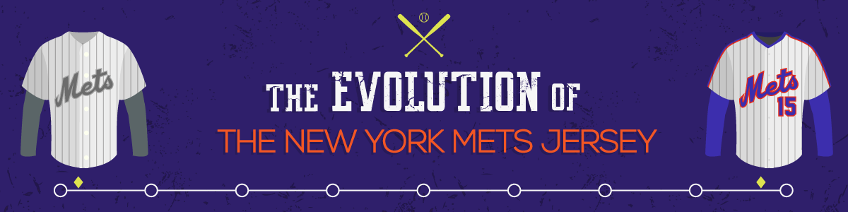 official photos 92135 eb69c The Evolution of the New York Mets Jersey