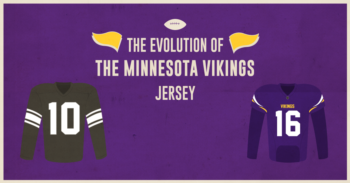 The Evolution Of The Minnesota Vikings Jersey