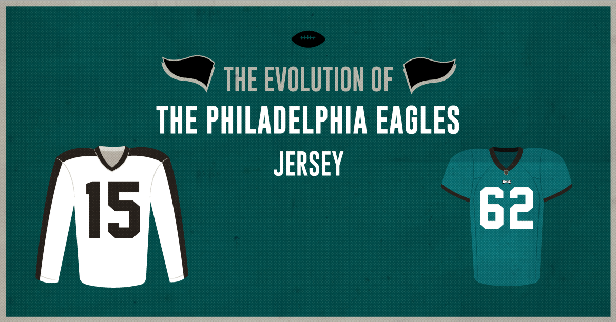 Philadelphia Eagles Jersey Evolution