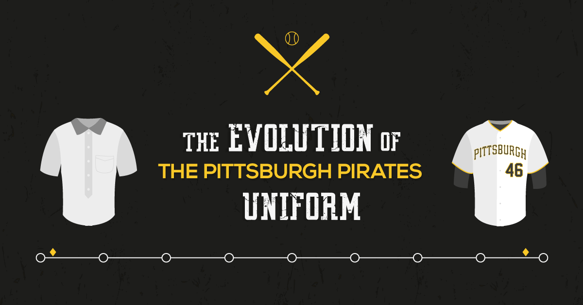 The Evolution Of The Pittsburgh Pirates Uniform