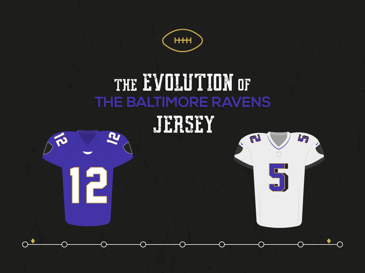 The Evolution Of The Baltimore Ravens Jersey