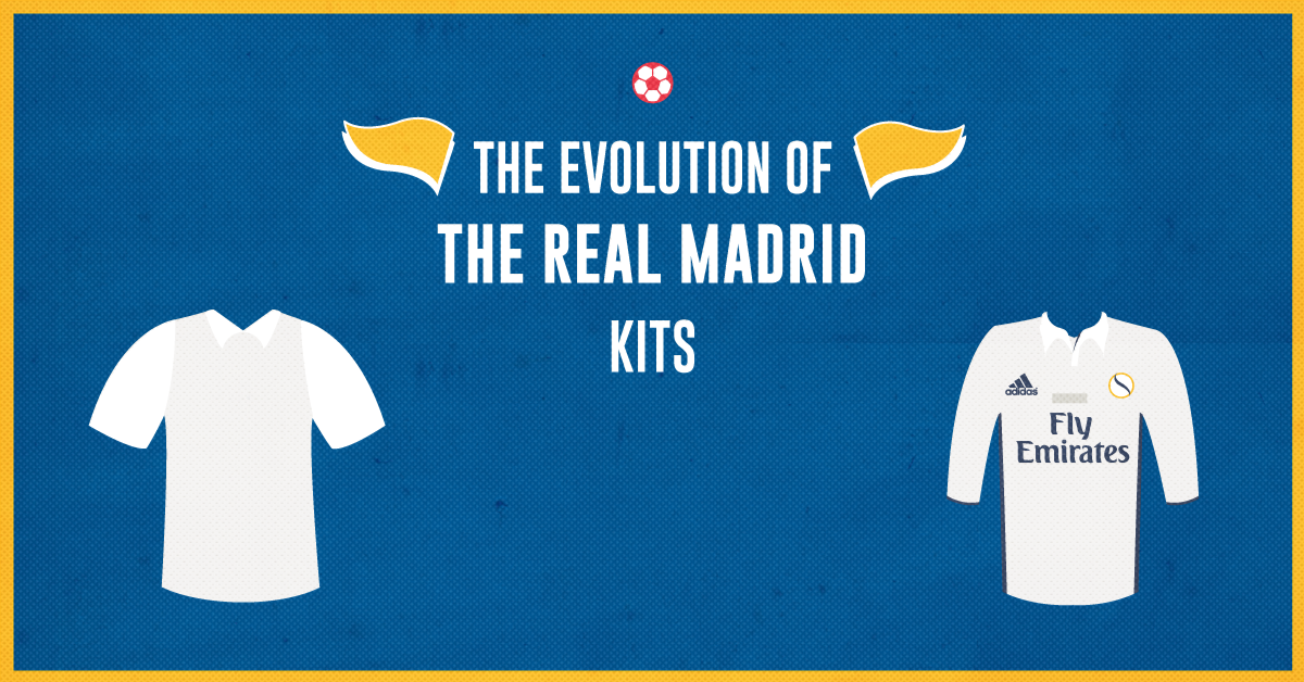 fdbe48554f2 The Evolution of the Real Madrid Jersey