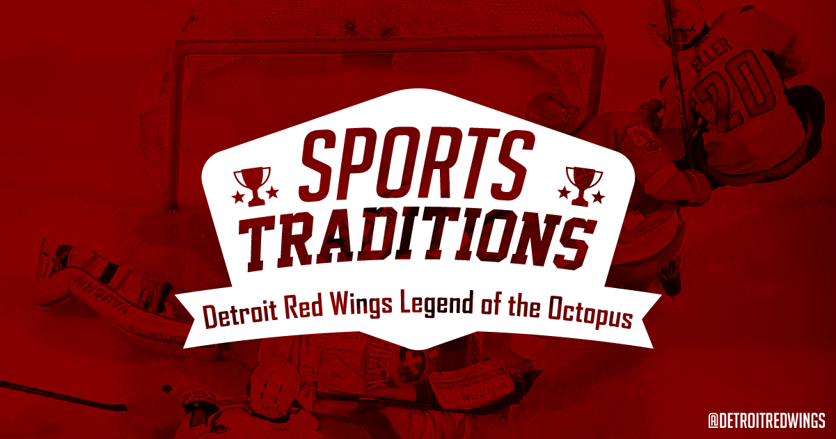 Why is there an octopus on the ice at the detroit red wings game voltagebd Images