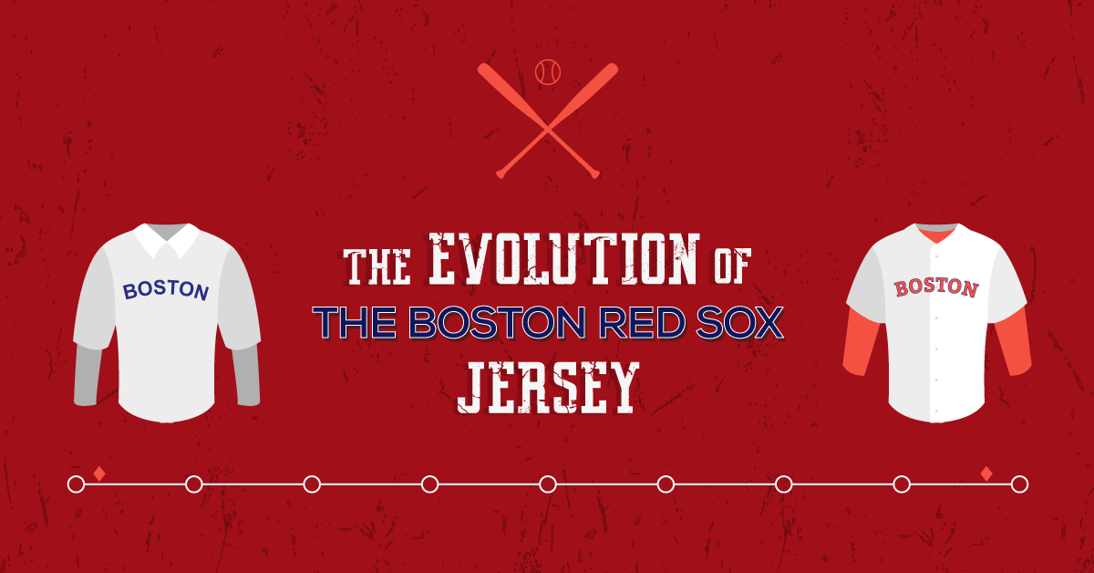 The Evolution Of The Boston Red Sox Jersey
