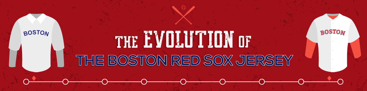 Evolution of the Boston Red Sox Jersey