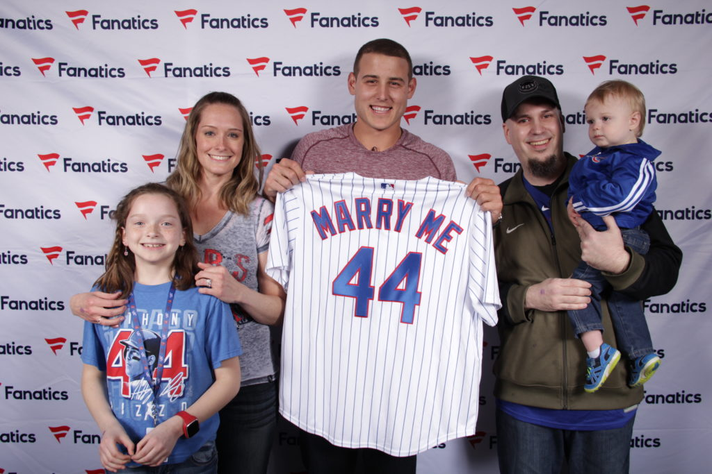 Marriage proposal with Anthony Rizzo