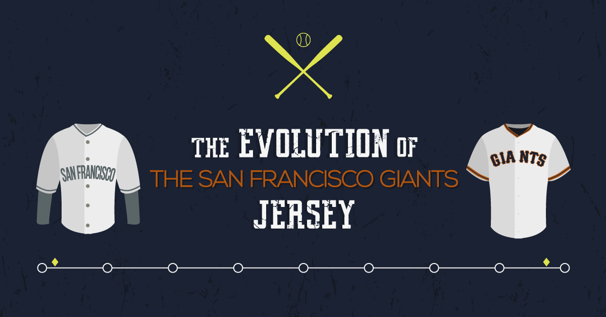 f94615726fc The Evolution of the San Francisco Giants Jersey