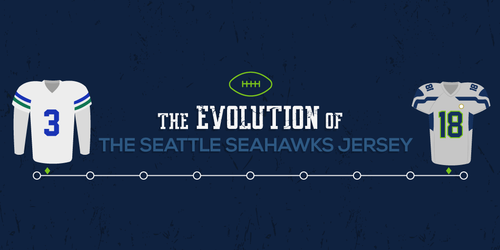 The Evolution Of The Seattle Seahawks Jersey