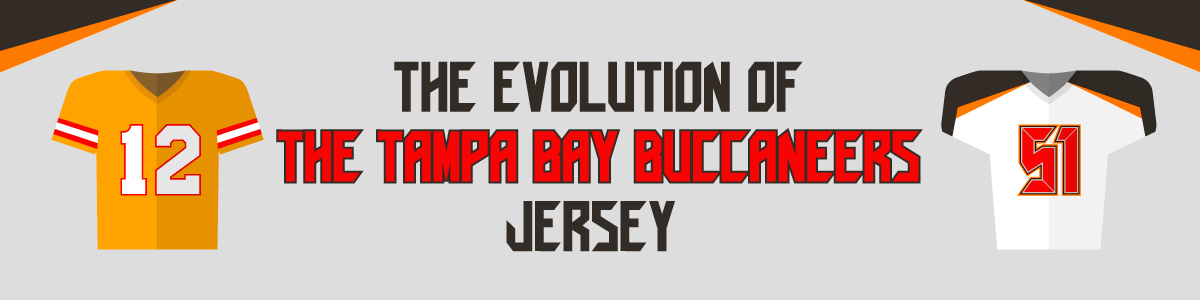 4aba02f8 The Evolution of the Tampa Bay Buccaneers Jersey