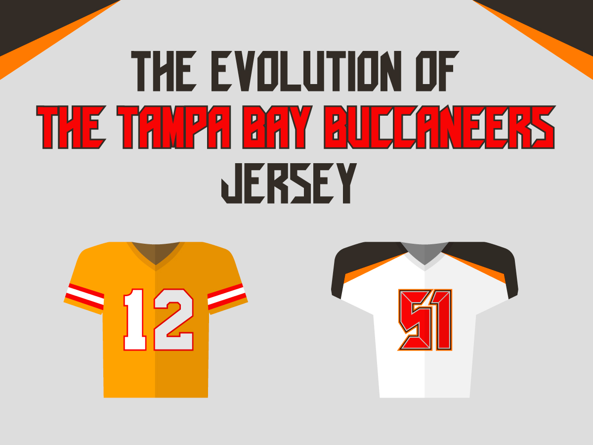 The Evolution of the Tampa Bay Buccaneers Jersey