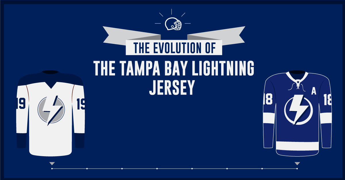 The Evolution of the Tampa Bay Lightning Jersey