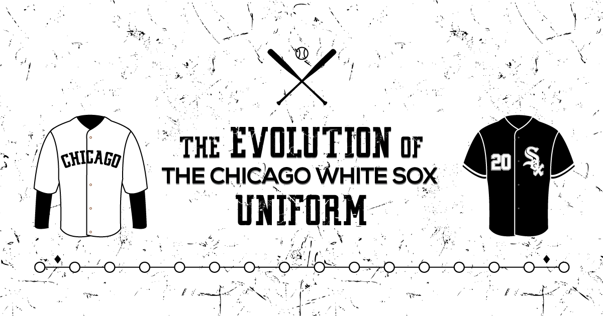 The Evolution Of The Chicago White Sox Uniform