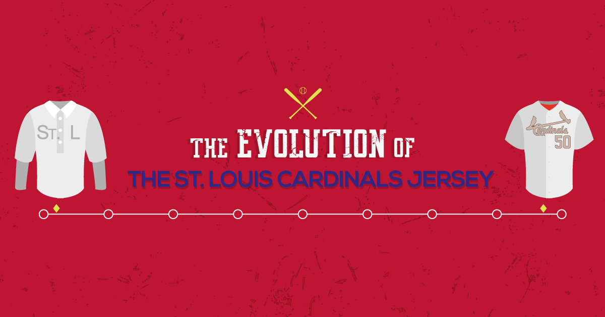 3f6f8f8c32da The Evolution of the St. Louis Cardinals Jersey