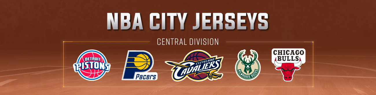 huge selection of bb850 5cb05 NBA City Edition Jerseys: Central Division
