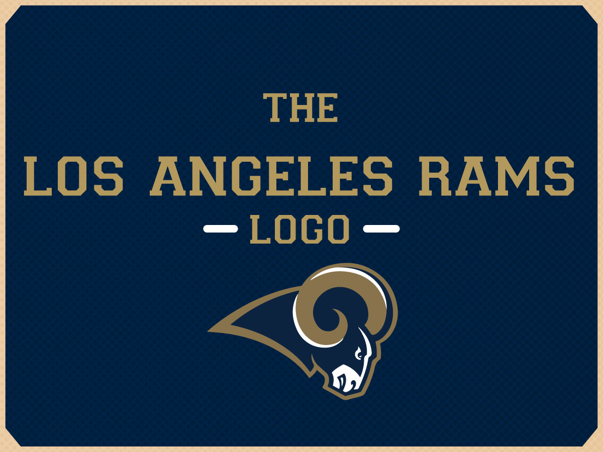 The Evolution Of The Los Angeles Rams Logo