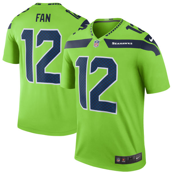 Seattle Seahawks color rush