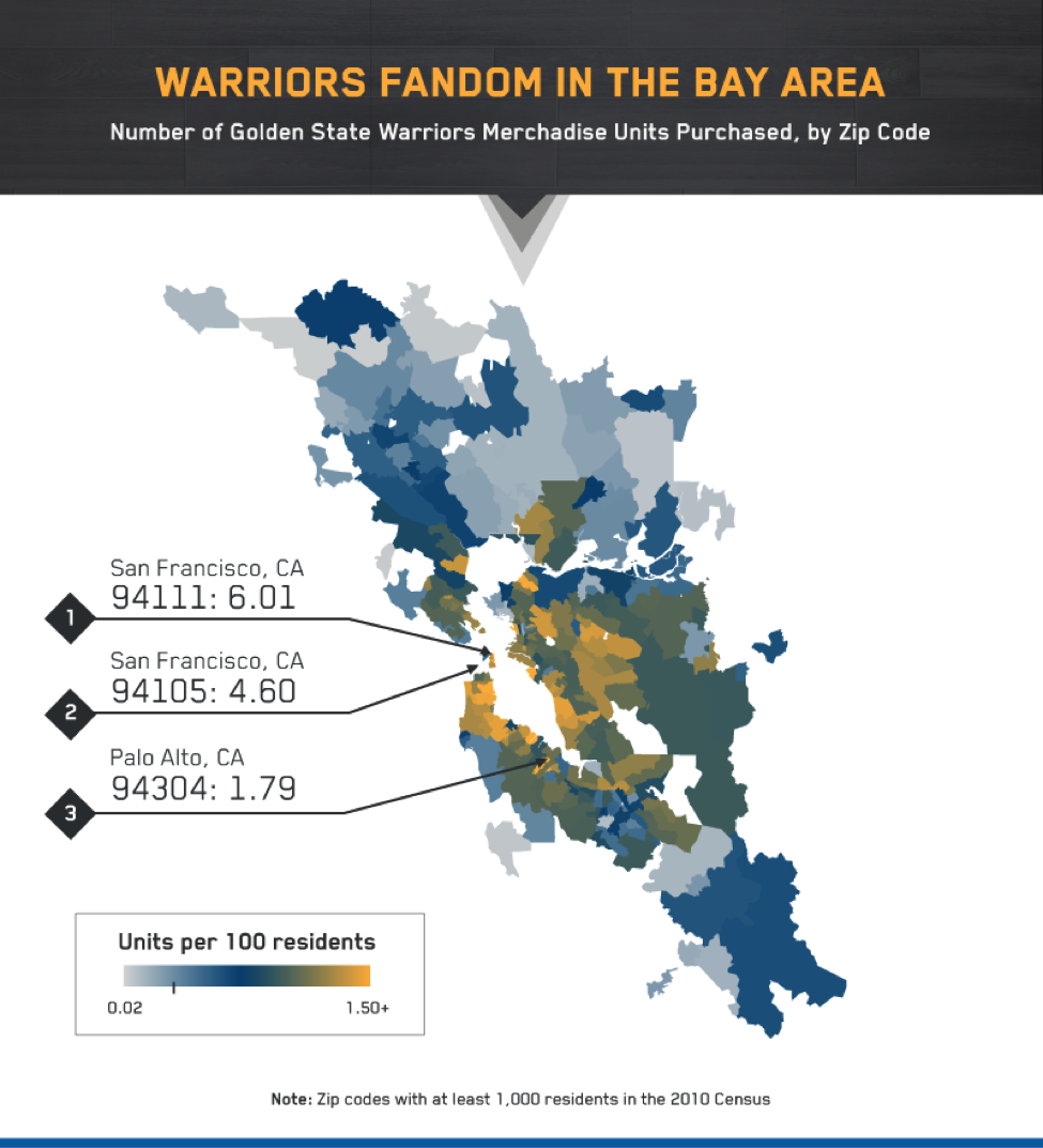 Golden State Warriors Fandom In The Bay Area